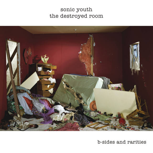 Album cover for The Destroyed Room by Sonic Youth