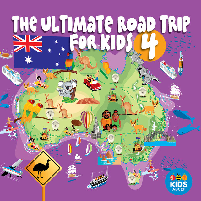 The Ultimate Road Trip for Kids Volume 4 Albumcover