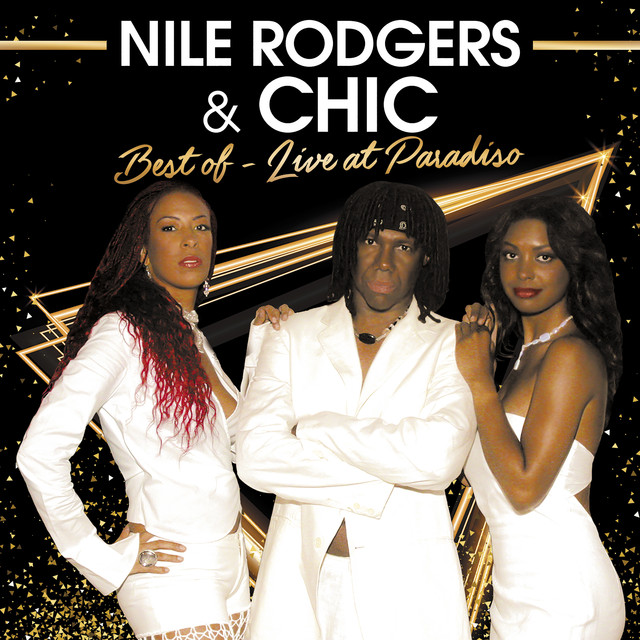 Nile Rodgers, Chic Best Of (Live in Paradiso) album cover