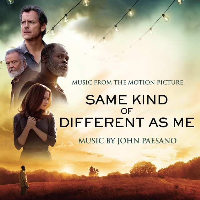 Album cover for Same Kind of Different As Me (Music from the Motion Picture) by John Paesano
