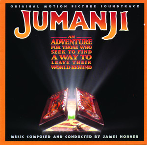 JUMANJI ORIGINAL MOTION PICTURE SOUNDTRACK Albumcover