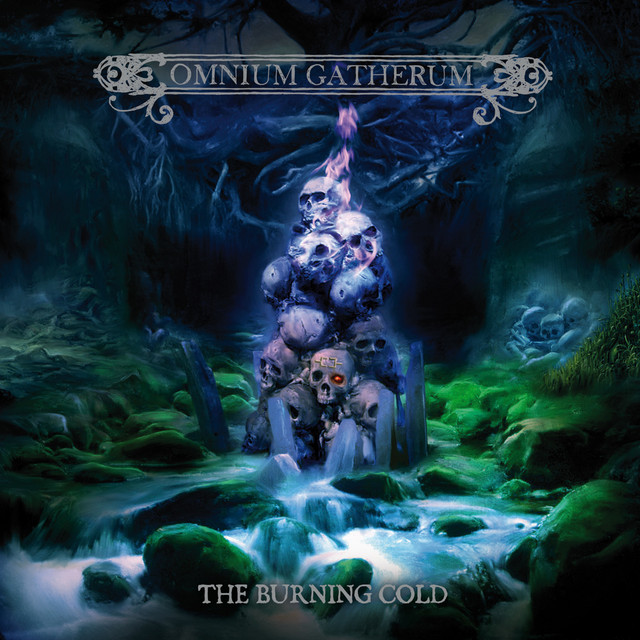 Album cover for The Burning Cold by Omnium Gatherum