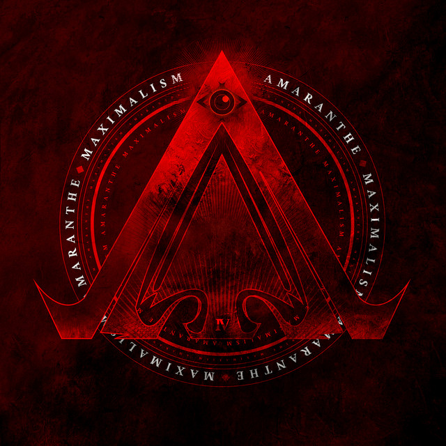 Album cover for MAXIMALISM by Amaranthe
