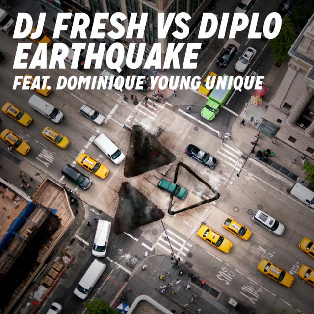 Diplo Earthquake (Remixes) album cover