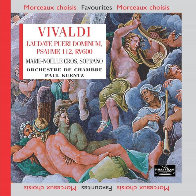 Vivaldi: Laudate pueri dominum, Psaume 112 pour soprano, cordes et continuo, RV 600 Albumcover