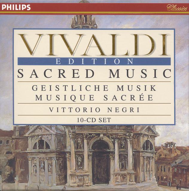 Vivaldi: Sacred Music Albumcover