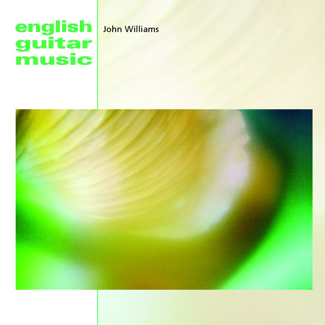 John Williams English Guitar Music album cover