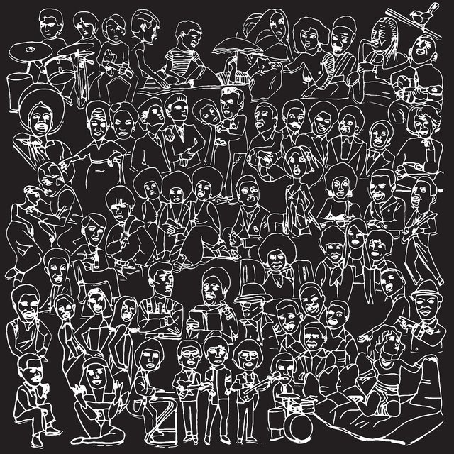 Album cover for Love Songs: Part Two by Romare