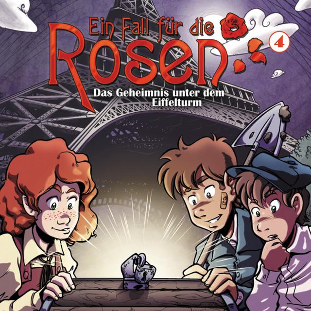 Folge 04: Das Geheimnis unter dem Eiffelturm Cover