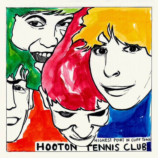 Album cover for Highest Point In Cliff Town by Hooton Tennis Club