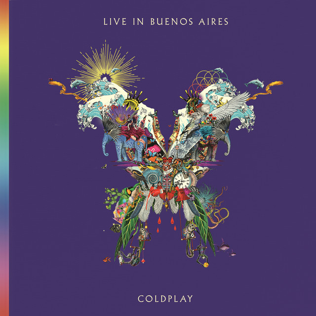 Album cover for Live In Buenos Aires by Coldplay