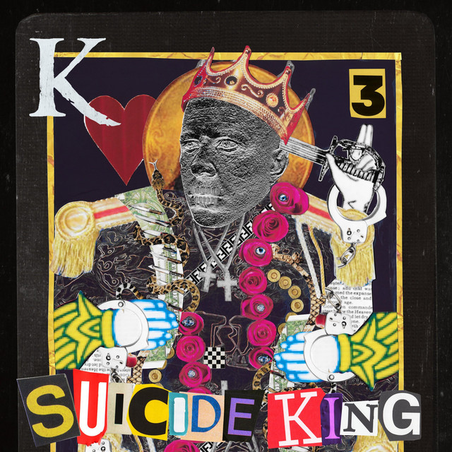 Album cover for Suicide King by King 810