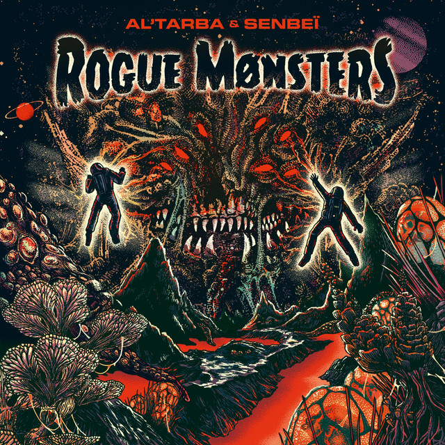 Album cover for Rogue Monsters by Al'Tarba, Senbeï
