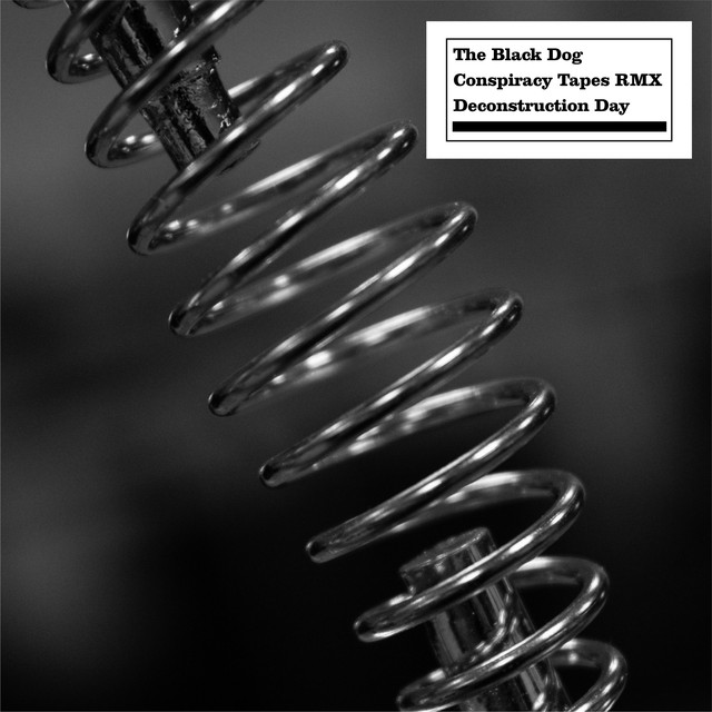 Album cover for Conspiracy Tapes RMX Destruction Day by The Black Dog