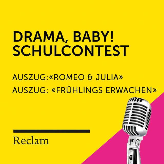 Album cover for Drama, Baby! Der Schulcontest by Reclam Hörbücher