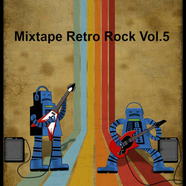 Various Artists Mixtape Retro Rock, Vol. 5 album cover