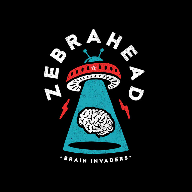 Album cover for Brain Invaders by zebrahead