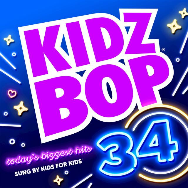 Album cover for KIDZ BOP 34 by Kidz Bop Kids