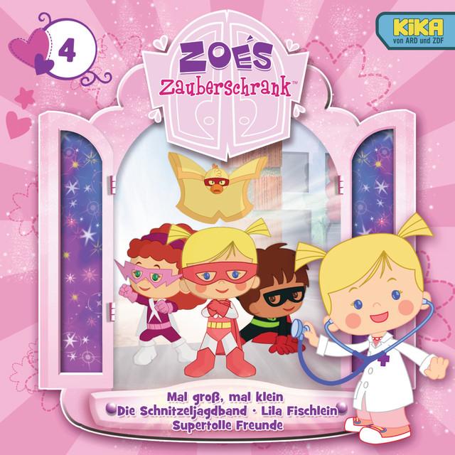 04: Mal groß, mal klein  -  Die Schnitzeljagband  -  Lila Fischlein  -  Supertolle Freunde Cover