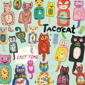 Album cover for Lost Time by Tacocat
