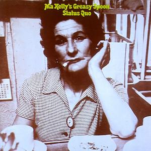 Status Quo In My Chair - 1979 Pye Promo Flexidisc cover
