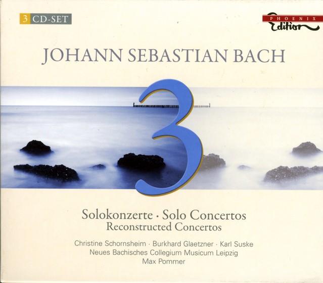 Bach, J.S.: Solo Concertos (Reconstructed Concertos) Albumcover