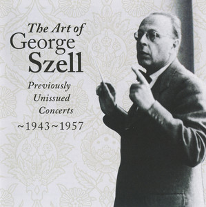 The Art of George Szell, Vol. 1 Albumcover
