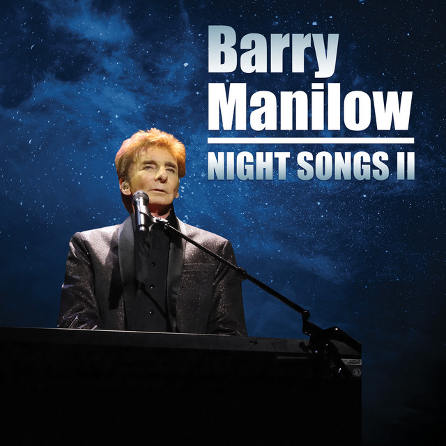Album cover for Night Songs II by Barry Manilow