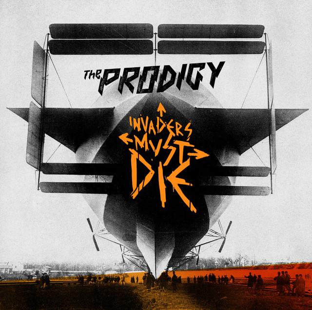 Skivomslag för Prodigy: Invaders Must Die
