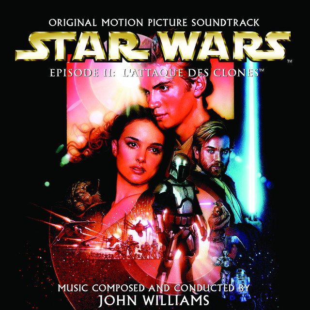 Star Wars Episode 2: L'Attaque des Clones (French Version) Albumcover