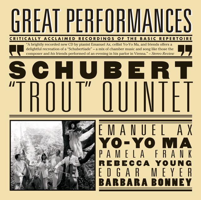 Schubert: Trout Quintet; Arpeggione Sonata; Die Forelle Albumcover