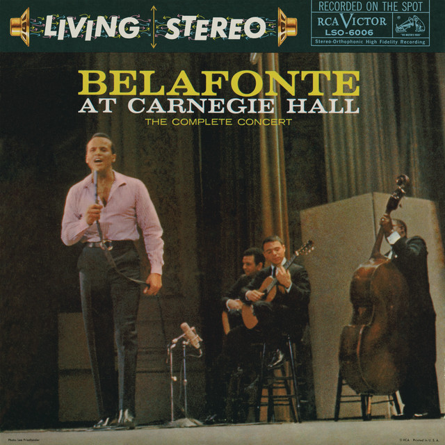 Belafonte: At Carnegie Hall