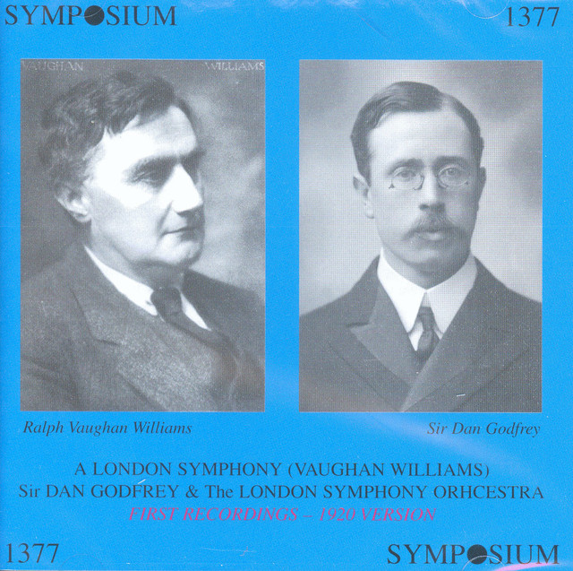 Vaughan Williams: A London Symphony (1920 version) Albumcover