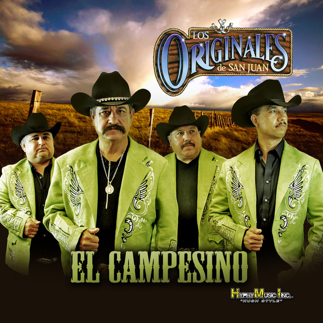 Album cover for El Campesino by Los Originales De San Juan