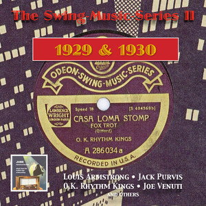 The Swing-Music Series, Vol. 2: Louis Armstrong, Joe Venuti, The O.K. Rhythm Kings & Others (Recorded 1929-1930) album