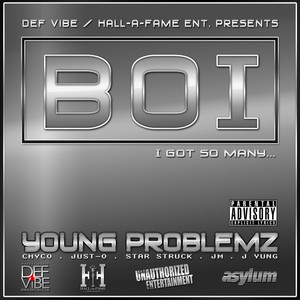 Mike Jones Young Problemz Boi! cover
