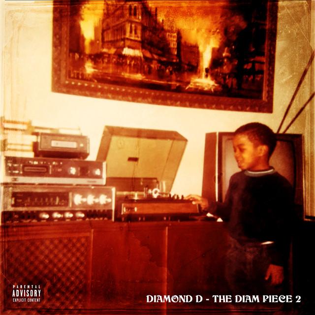 Album cover for The Diam Piece 2 by Diamond D