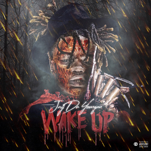 Album cover for Wake Up by Jaydayoungan