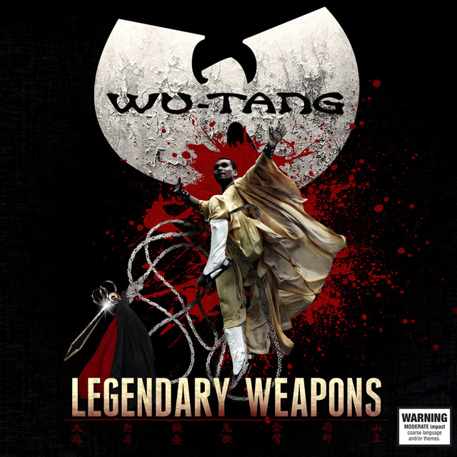 Wu‐Tang Clan Legendary Weapons album cover
