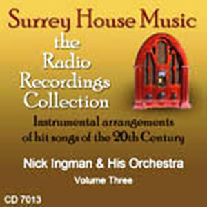Nick Ingman & His Orchestra, Vol. 3 album