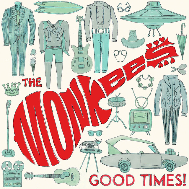 Album cover for Good Times! (Deluxe) by The Monkees