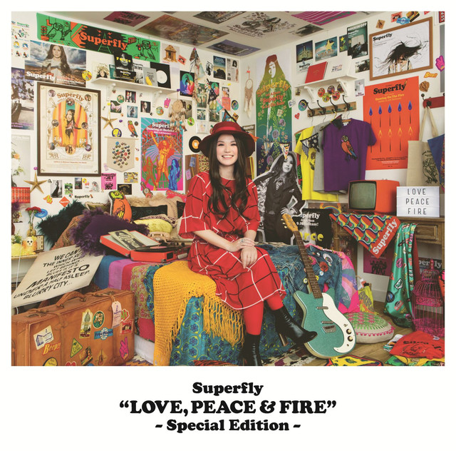 Album cover for LOVE, PEACE & FIRE (Special Edition) by Superfly