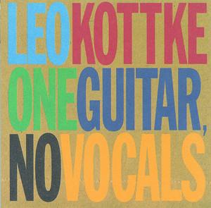 One Guitar, No Vocals album