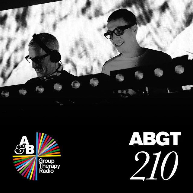 Album cover for Group Therapy 210 by Above & Beyond