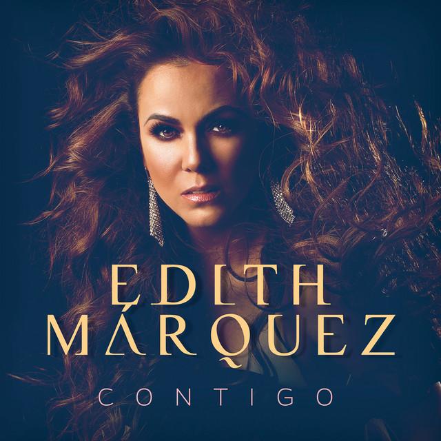 Album cover for Contigo by Edith Márquez