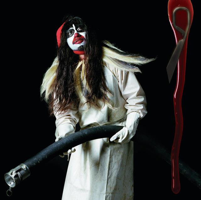 Skivomslag för Björk: Drawing Restraint 9