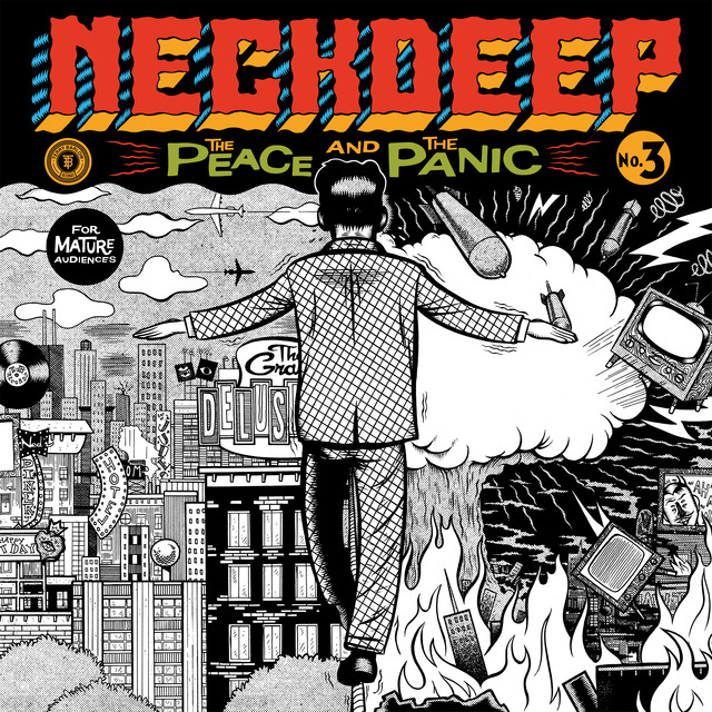 Album cover for The Peace And The Panic by Neck Deep