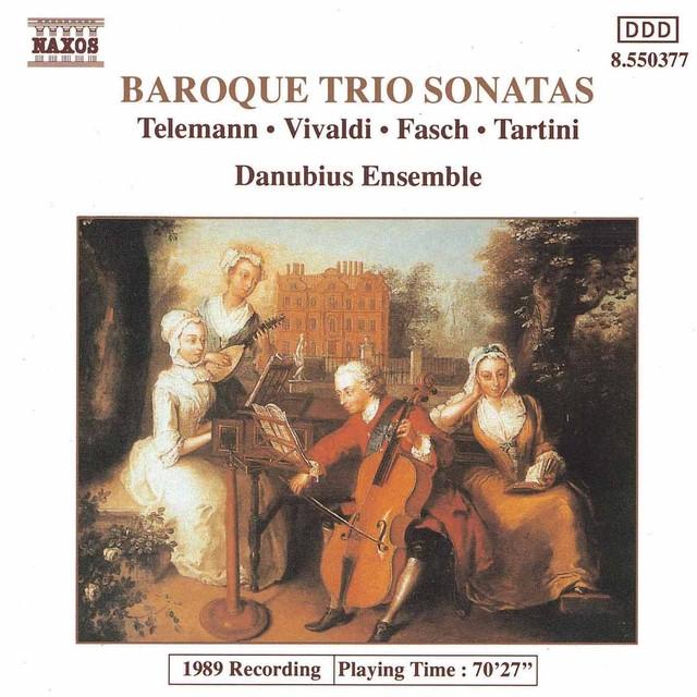 Baroque Trio Sonatas Albumcover