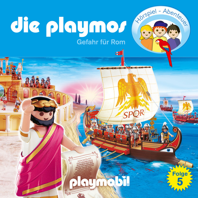Folge 5: Gefahr für Rom (Das Original Playmobil Hörspiel) Cover