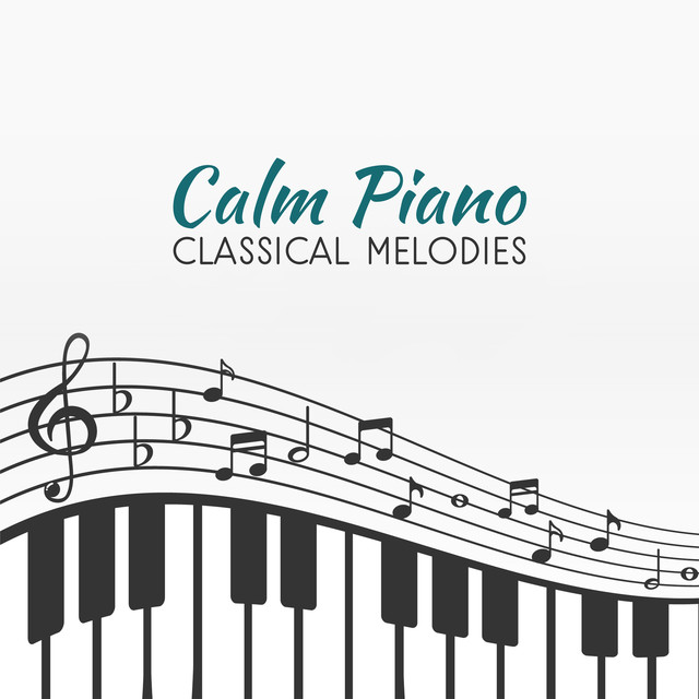 Album cover for Calm Piano Classical Melodies by Ludwig van Beethoven, Relaxing Music Therapy Consort